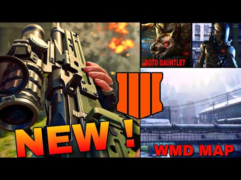 *NEW* BLACK OPS 4 WMD REMAKE, DEAD OF THE NIGHT GUANTLET, MINI 14 & MORE! |