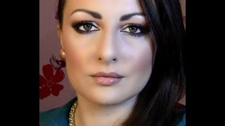 Sparkly Christmas Party MakeupTutorial Thumbnail