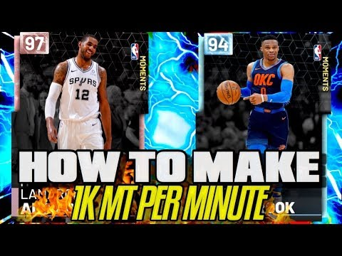 How to Make 1000 MT per Minute Guaranteed in MyTeam! Fast/Free MT in 2K19!