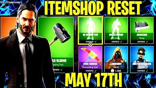 🔴 *NEU* FORTNITE ITEM SHOP RESET NEW SKINS MAY 17TH LIVE COUNTDOWN (BATTLE ROYALE LIVE)
