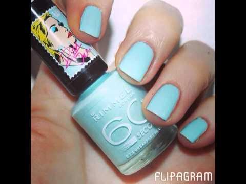 7e9a3391462 Rita Ora for Rimmel 60 Seconds Nail Polish Swatches - YouTube
