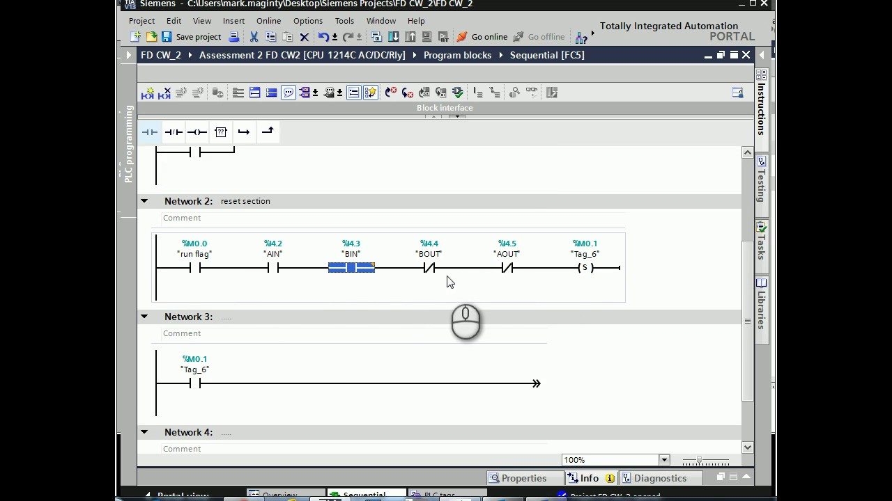 Sequential Programming With Ladder Logic Youtube Plc Training For Dummies