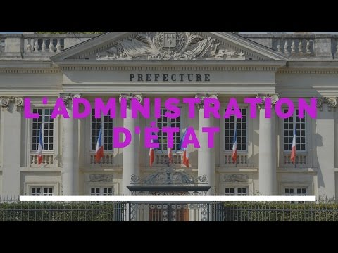 L'administration d'état