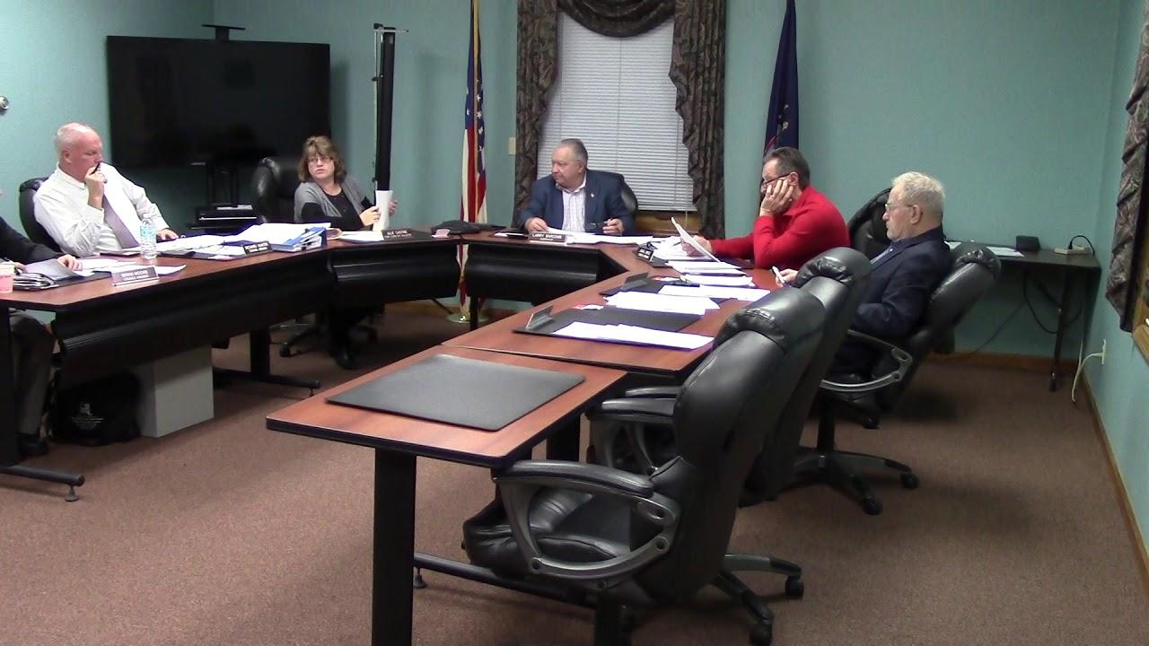 Champlain Town Board Meeting  12-11-18