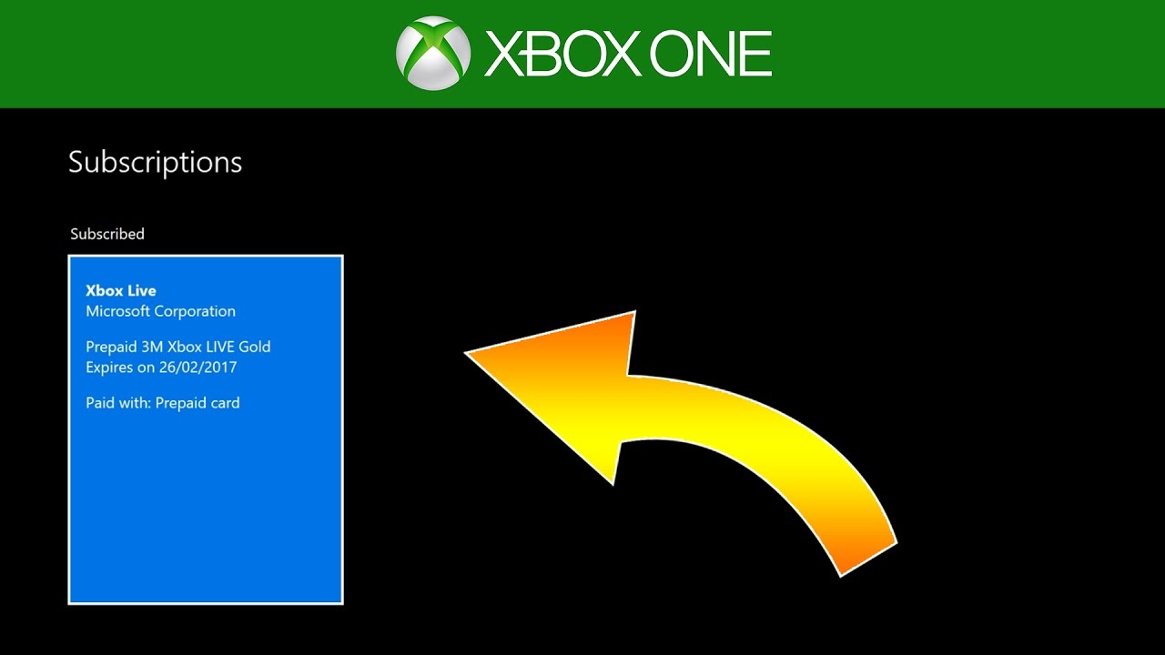 How To Check When Your Xbox Gold Membership Expires (2017)