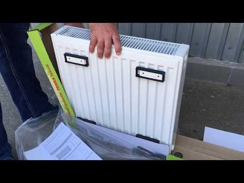 Распаковка стального радиатора TERRA Teknik