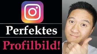Profilbild Instagram - Richtig Instagram Profil gestalten - deutsch
