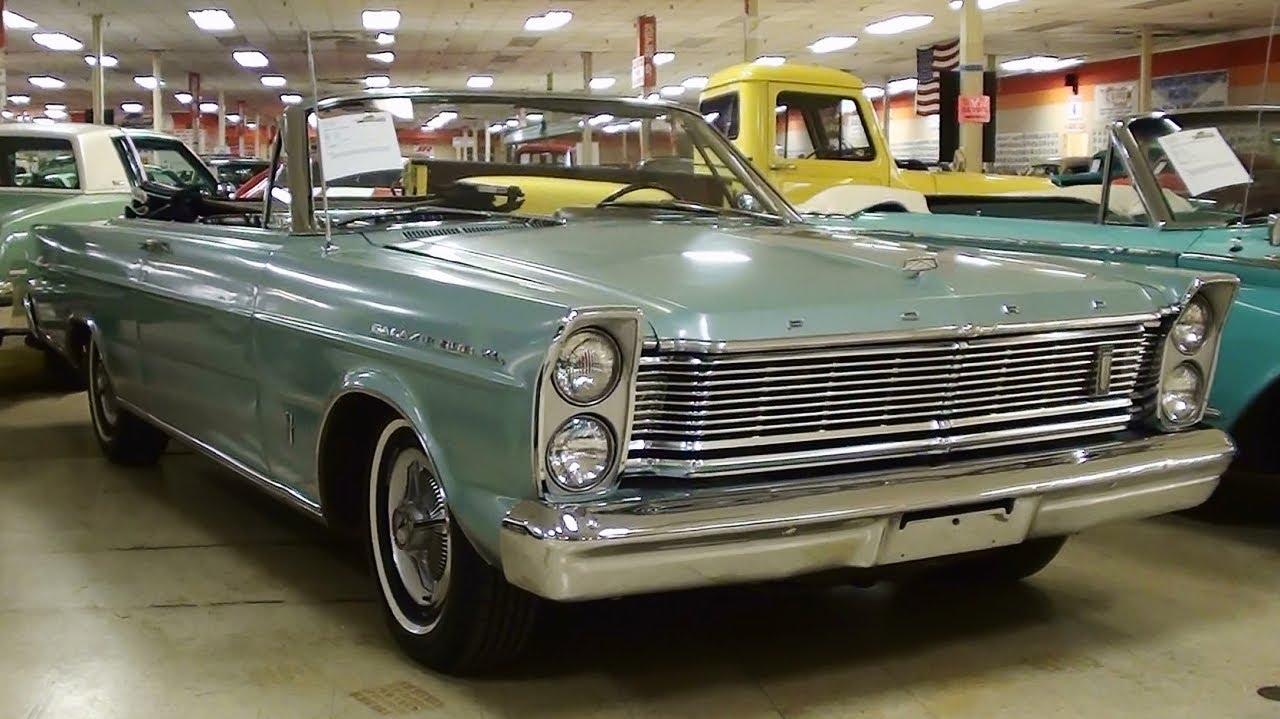 1964 Ford Galaxie 500 Parts 1965 Ford Galaxie 500 XL Convertible 352 V8 - YouTube