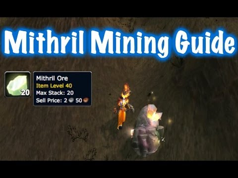 Mithril Ore Farm Guide World Of Warcraft Youtube