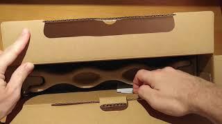 Распаковка Unboxing ноутбука Dell Vostro 5391/5390