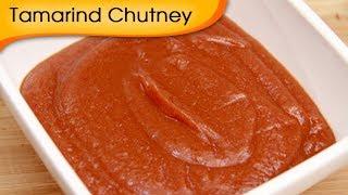 How To Make Date & Tamarind Chutney | Khajur Imli Ki Chatni For Chaat Recipe By Ruchi Bharani