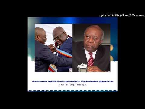 Radio ubumwe :  Congo/RDC ni bere urugero KAGAME P. n'abandi bayobozi b'igitugu ba Africa 25 01 2019