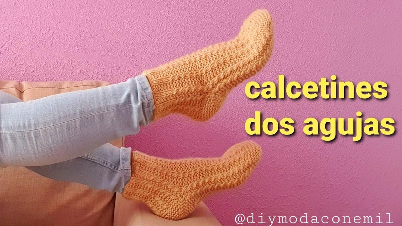 Download Como tejer calcetines medias a dos agujas paso a paso