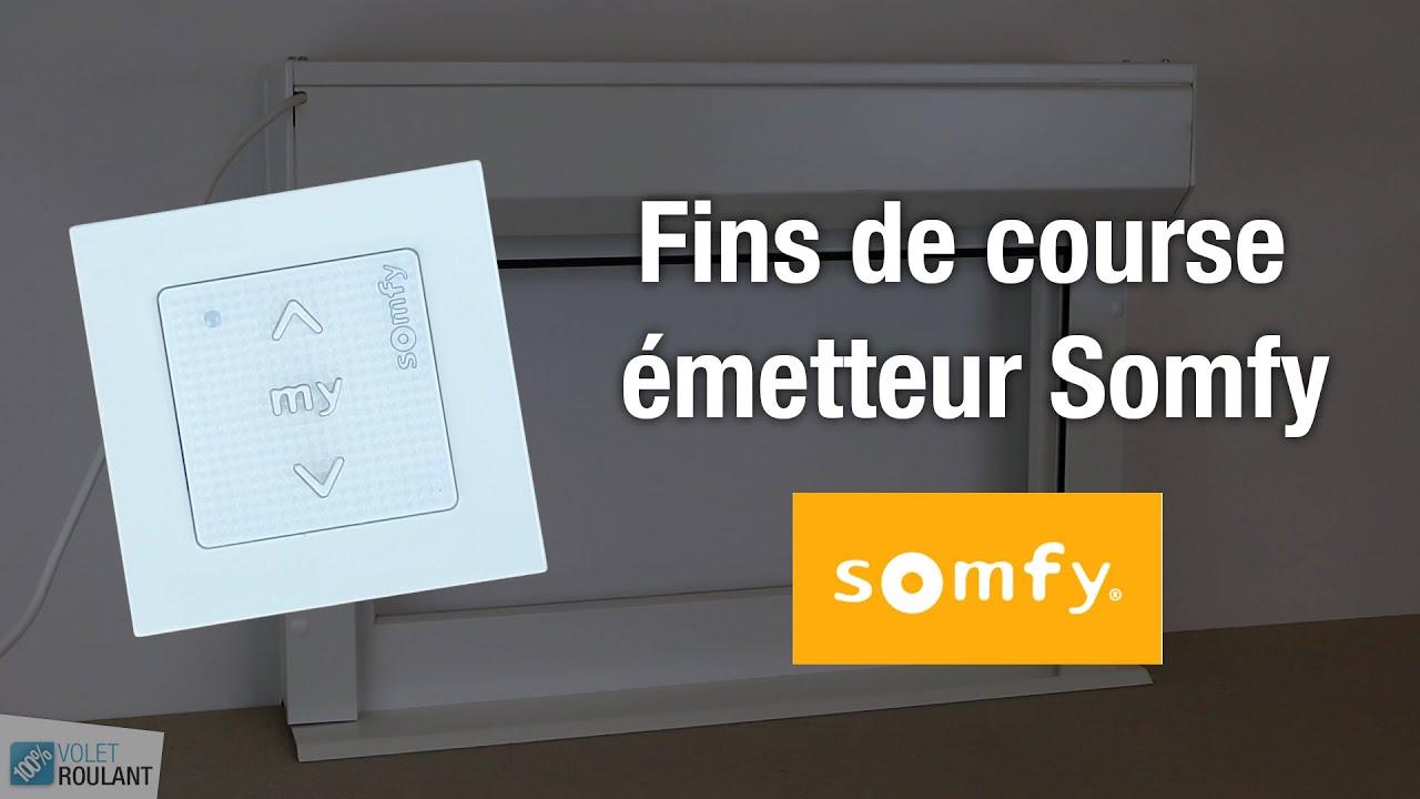 Reglage Fins De Course Moteur Somfy Avec Un Emetteur Reajustement