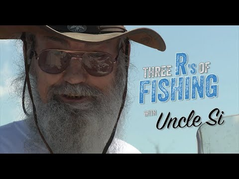 Three R's Of Fishing With Uncle Si - FULL EPISODE