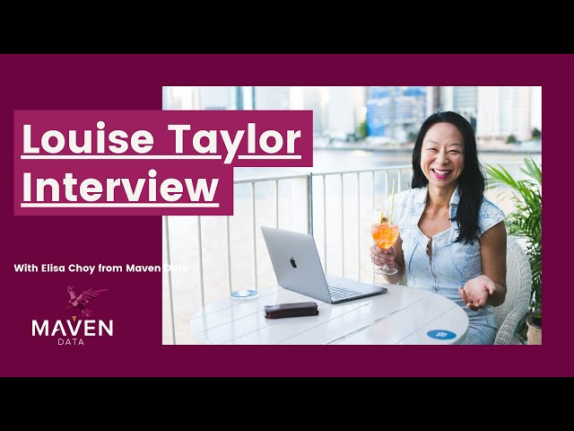 Elisa Choy is interviewed by Louise Taylor, neuro-scientist and prophetic business coach.