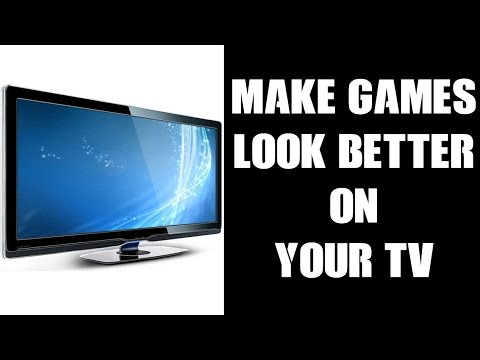 How To Make Games Look Better On Your TV (Polaroid P40LED12)