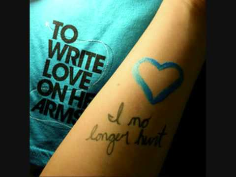 Helio To Write Love On Her Arms - YouTube