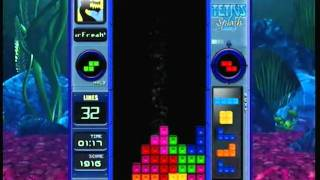 Tetris Splash Gameplay (Xbox 360)
