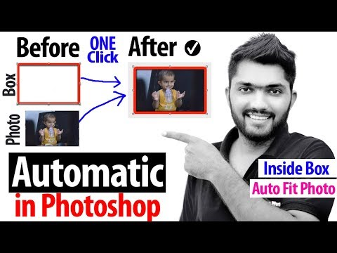 Automatic Photo Into Box Layer - Photoshop Action Tutorial