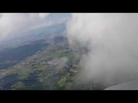 14/04/2019 - voando nas nuvens em Santo Amaro da Imperatriz