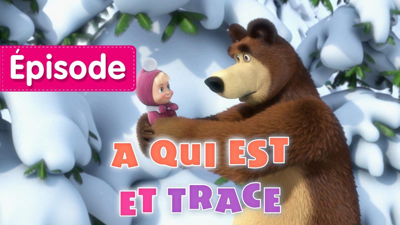Masha Et Michka à Qui Est Cette Trace épisode 4 Dessins Animés En Français