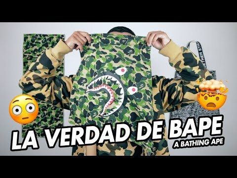 NO compres BAPE sin antes ver este VIDEO!! | A Bathing Ape | GUIA COMPLETA!