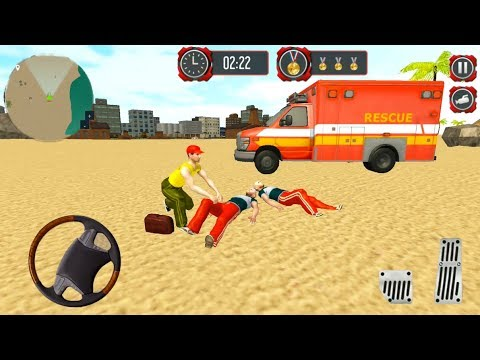 Beach Lifeguard Rescue Squad Motor Boat Driving - Beach Rescue Team - Android Gameplay FHD