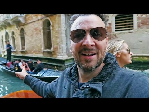 Venice, Italy • ARRIVING in to the 1,000 year-old island city!