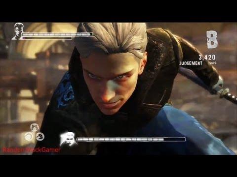 DmC - Devil May Cry - Dante vs  Vergil Final Battle