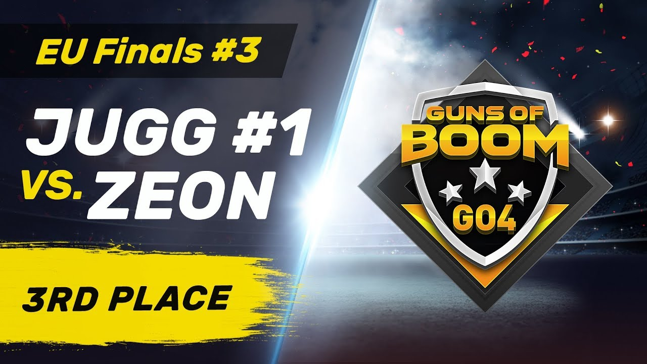 JUGG #1 vs ZEON   - GO4 EU Finals #3 - 3rd Place