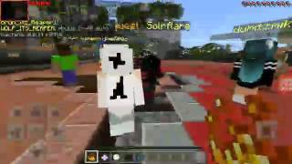 Playing hunger games in Minecraft episode 1