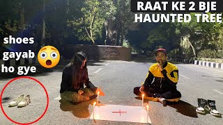 Calling ghost by charlie charlie game - dwarka sec 9 haunted tree