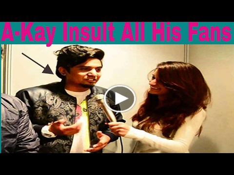 A-Kay Punjabi Singer Insult All His Fans In Interview ll ( 30rs Wala Netpack Abuse )