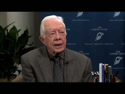 Former President Jimmy Carter Urges Support For Trump Administration