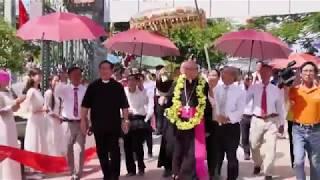 Thánh Lễ chính tiệc tuần chầu và đón chào Đức Tổng Leopoldo Girelli - Đền Thánh Hưng Nghĩa 2017