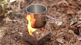 Black Scout Reviews - Cube Stove W/fuel