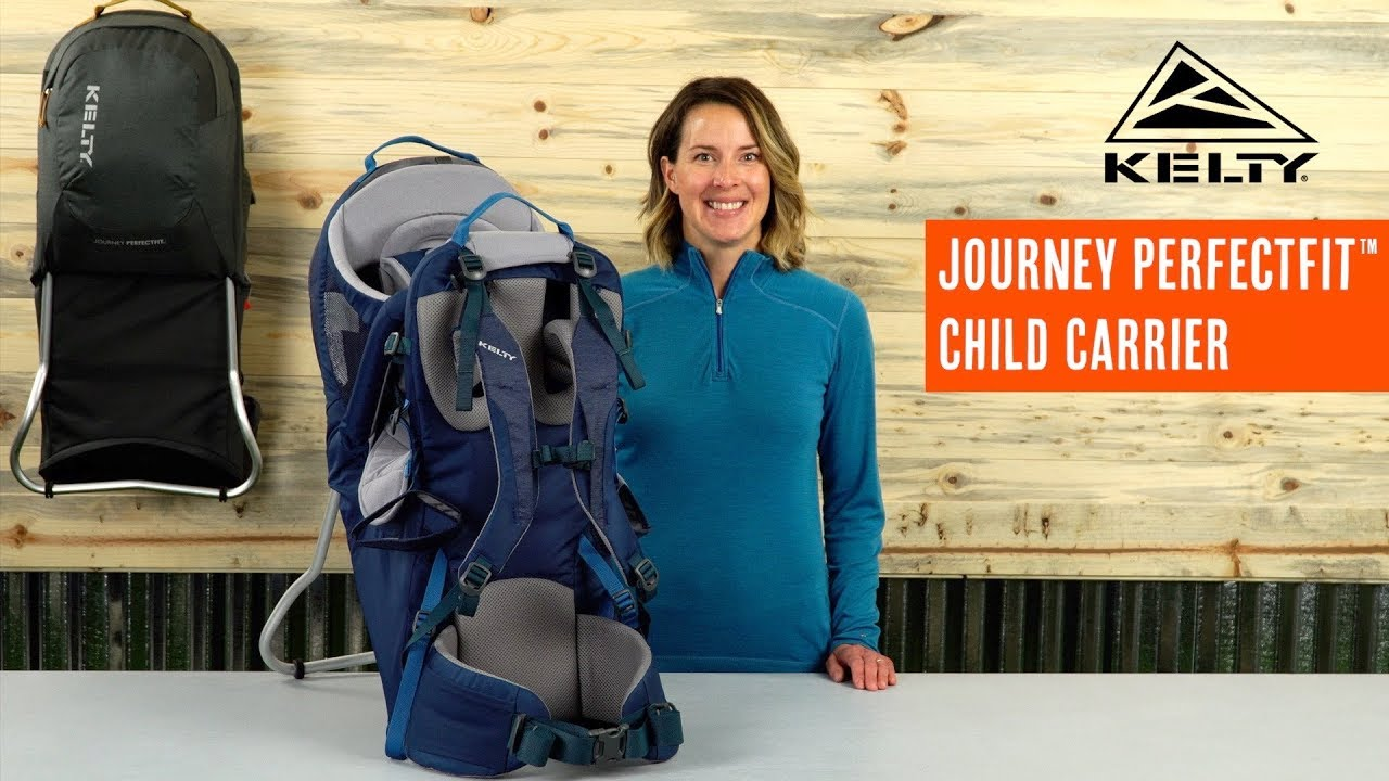 67ae18bfe79 Kelty Journey PerfectFit Child Carrier - YouTube