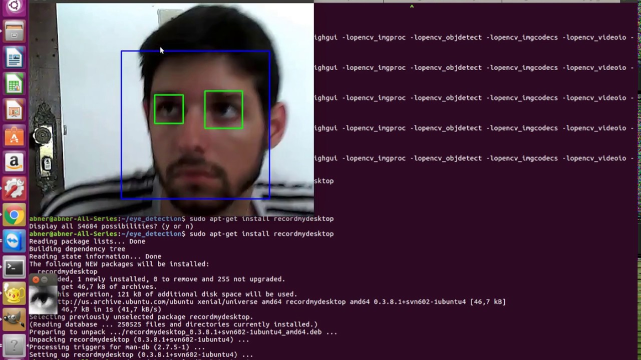 Eye tracking for mouse control in OpenCV