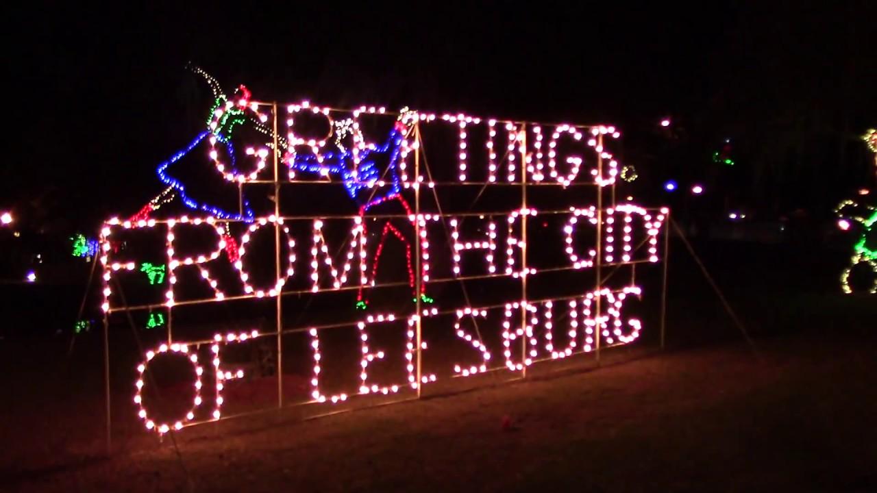2. Light Up Venetian Garden   2017 Christmas   Leesburg, Fla
