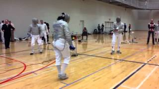 2012 Ontario Fencing Provincials Senior Men