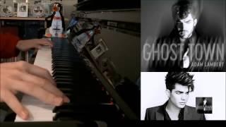 "Adam Lambert – ""Ghost Town"" (Advanced Piano Cover)"