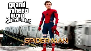 GTA San Andreas - SpiderMan HomeComing - Trailer Loquendo 2017