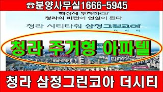 수익형부동산투자-인천 청라지구 주거형 원룸, 투룸 복층…