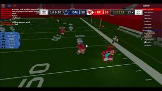 Me and my brother play legendary football on roblox