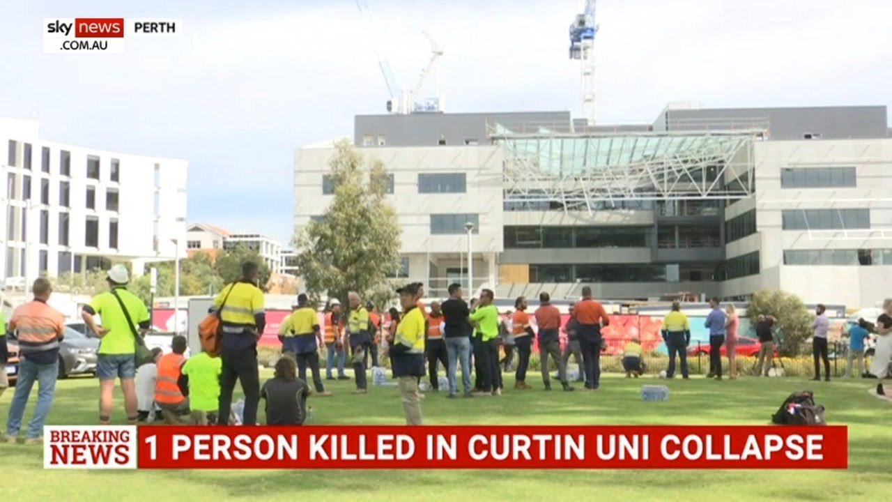 Investigation to be launched into Curtin University building collapse