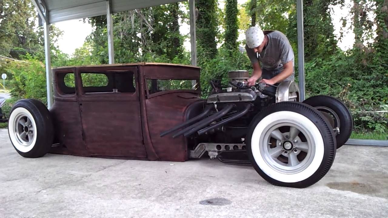 1926 model t a rat rod start up POSSIBLY FOR SALE OR TRADE - YouTube