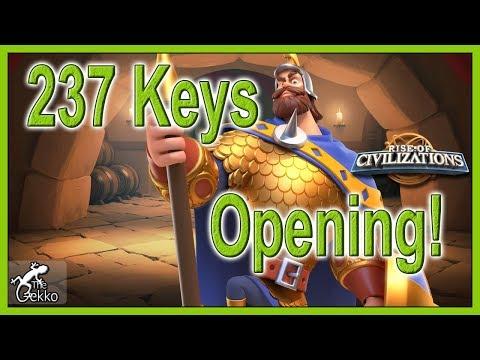 237 DOUBLE Key Opening - Jumper + Big - Rise of Civilizations