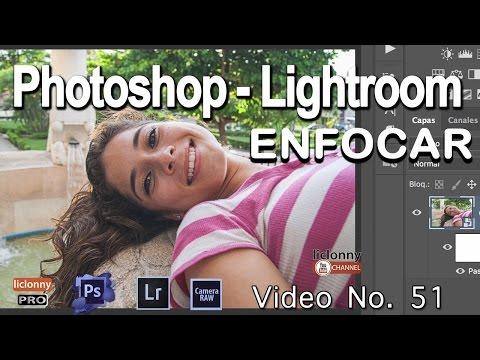 Tutorial Enfocar.Photoshop Y Lightroom # 51. ¿Cómo Usar Enfoque Paso Alto En Retrato?. Liclonny