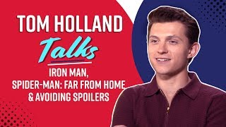 Tom Holland: Iron Man death sequence was UNSCRIPTED I Spider-Man: Far From Home